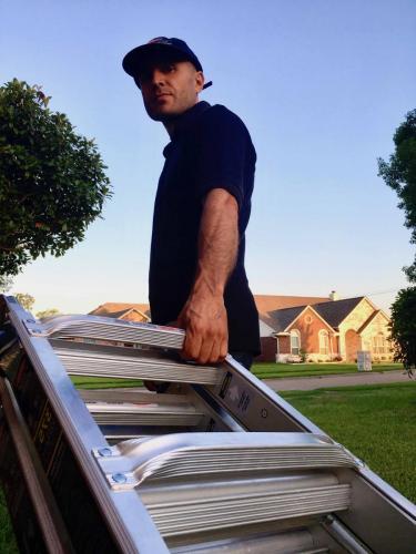 I bring tall ladders